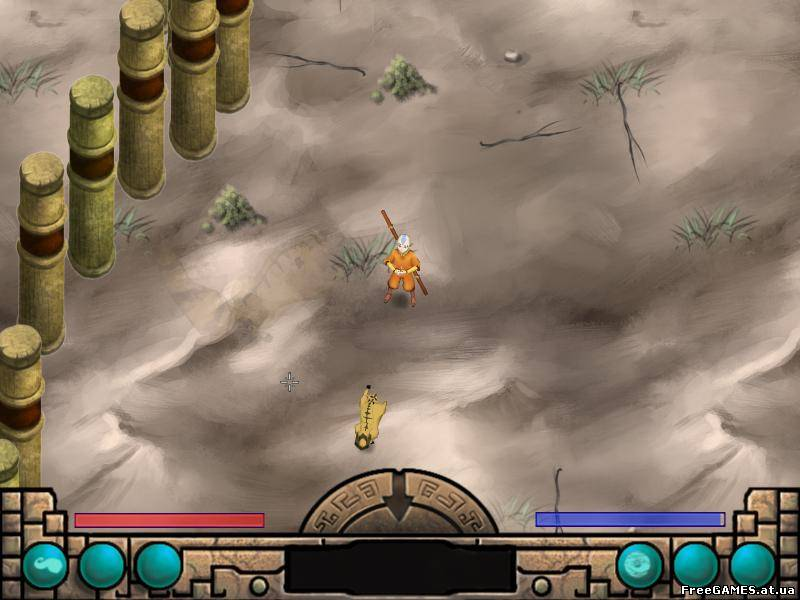 Avatar Last Airbender Игру