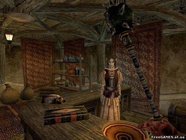 The Elder Scrolls III: Morrowind Collector's Edition screenshots.